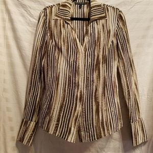 Light Weight Blouse in Shades of Brown